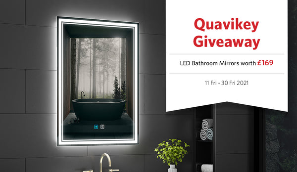 2021 competition - Win LED Mirrors Worth £169!