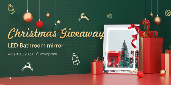 2019 Christmas Quavikey Led Mirrors Competition
