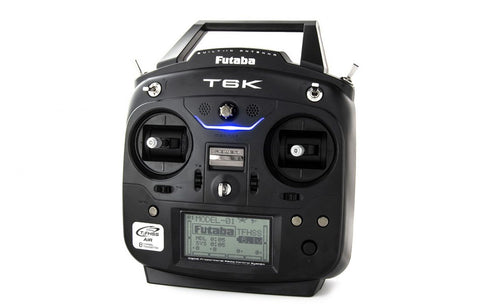 FUTABA T6K TRANSMITTER AND RECEIVER