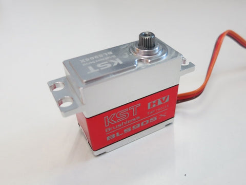 KST BLS905X Servo HV 20mm 12kg Brushless Narrowband Heli Rear Servo