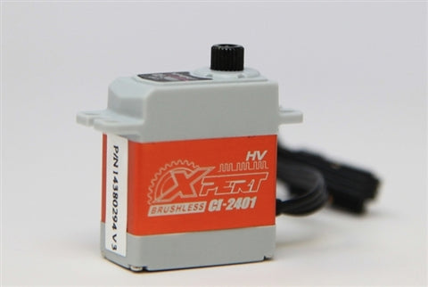 "XPERT RC MICRO CI-2401 ALUMINUM CASE ""SUPER TORQUE"" HIGH VOLTAGE BRUSHLESS SERVO"
