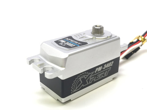 XPERT RC LOW PROFILE PM-3402 ALL ALUMINUM CASE SERVO