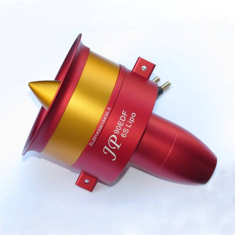 EDF Ducted Fan JP Hobby 90mm + 6s Motor 1750Kv (CCW)