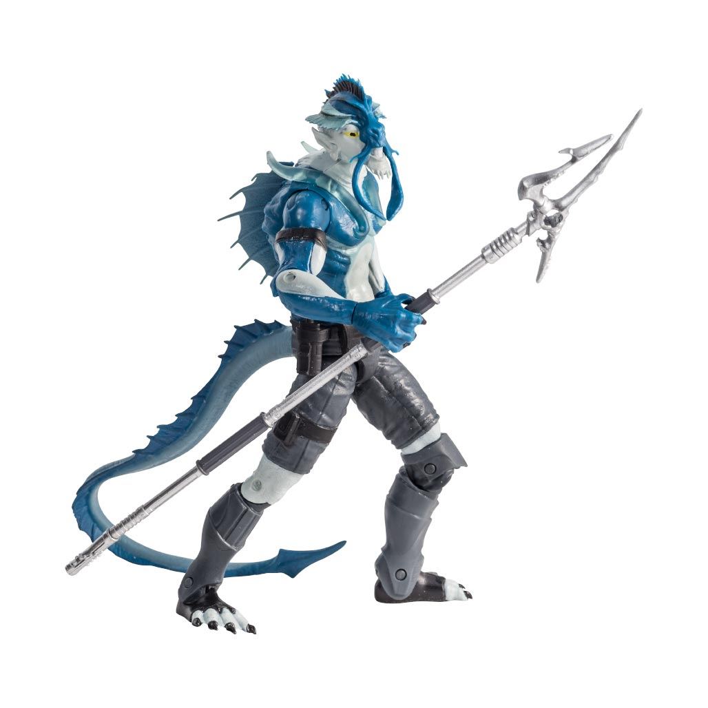 Alter Nation El Ray Action Figure with Trident