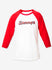 Logo Baseball Tee - Red