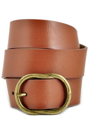 Classic Twist Brown Belt