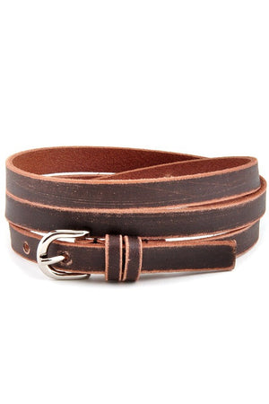 Thin Brown Belt