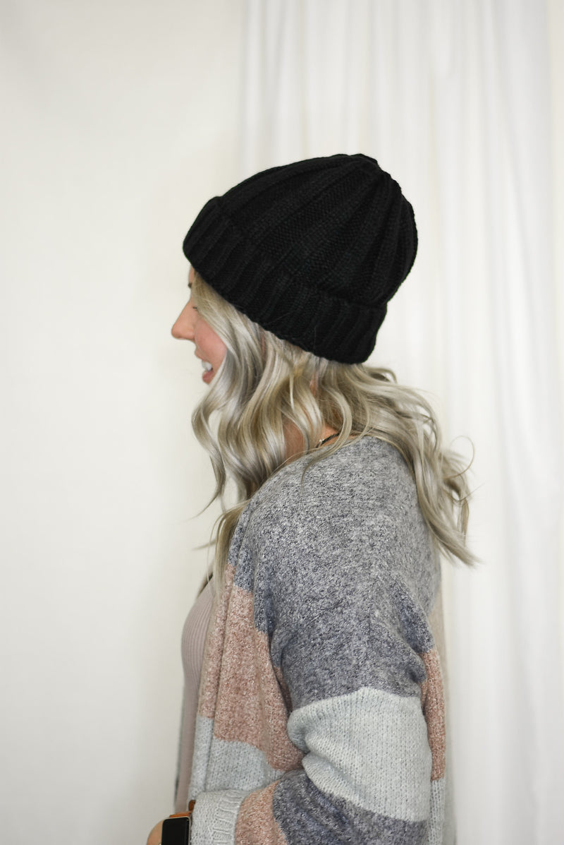 Fur Lined Beanie