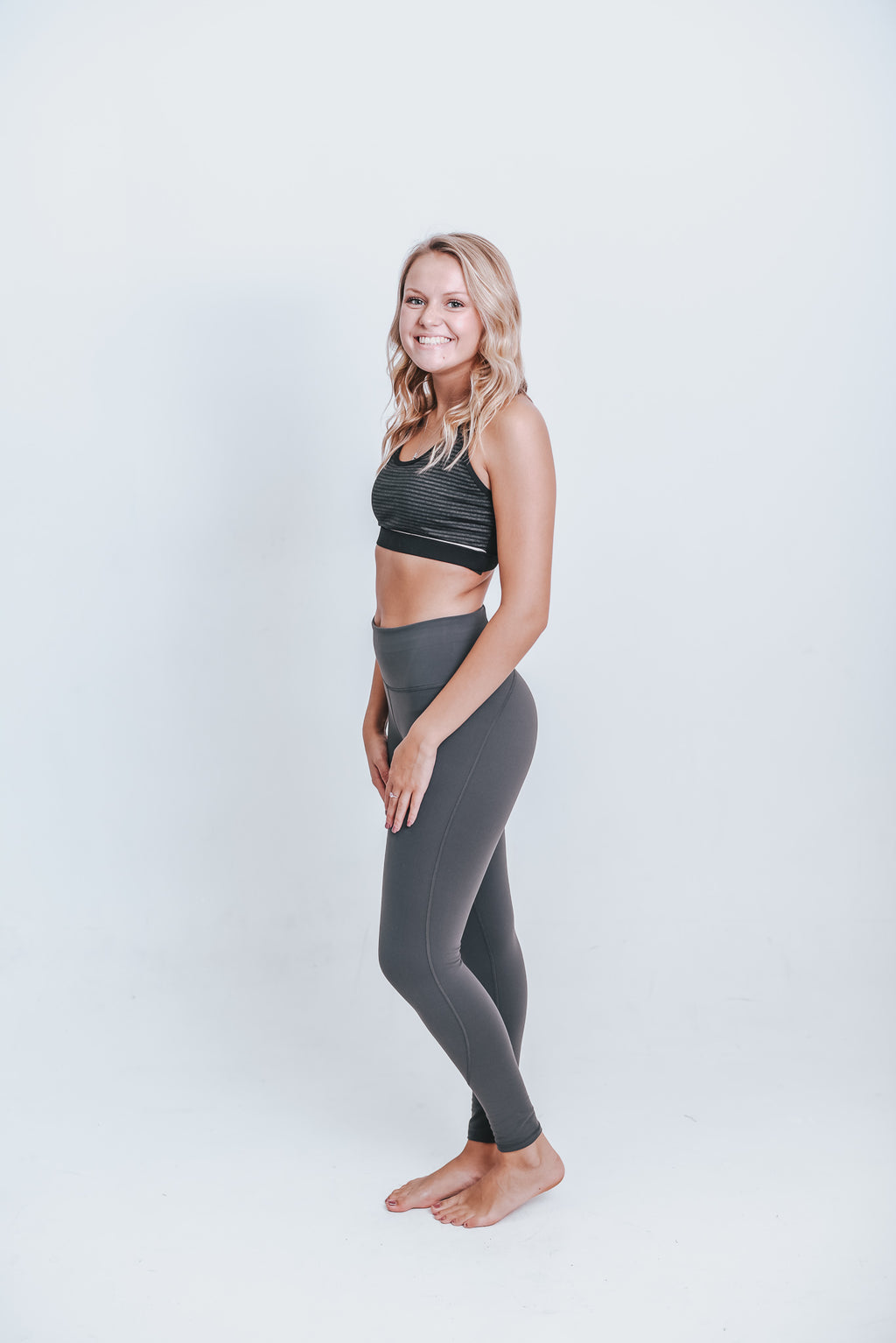 Cut It Out Racerback Sports Bra