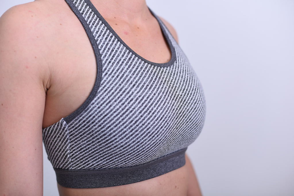 We Mesh So Well Together Racerback Sports Bra