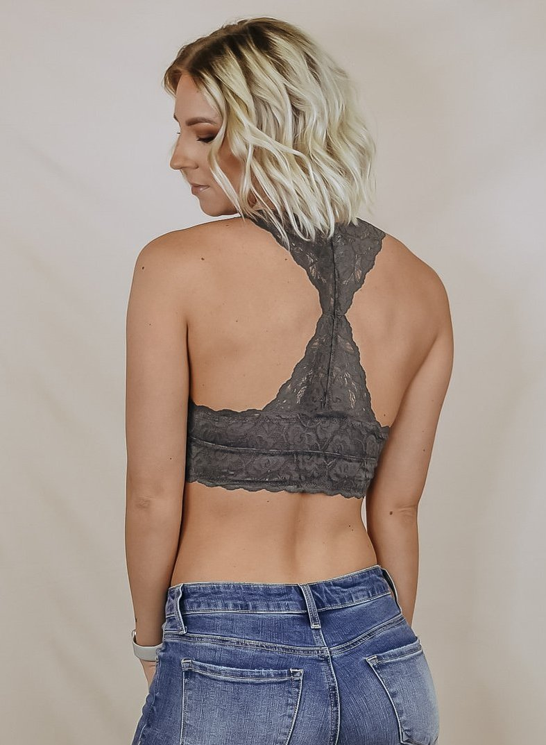 Razors Of Lace Padded Bralette