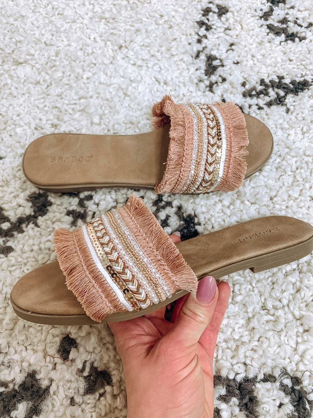 Antique Detailed Mules