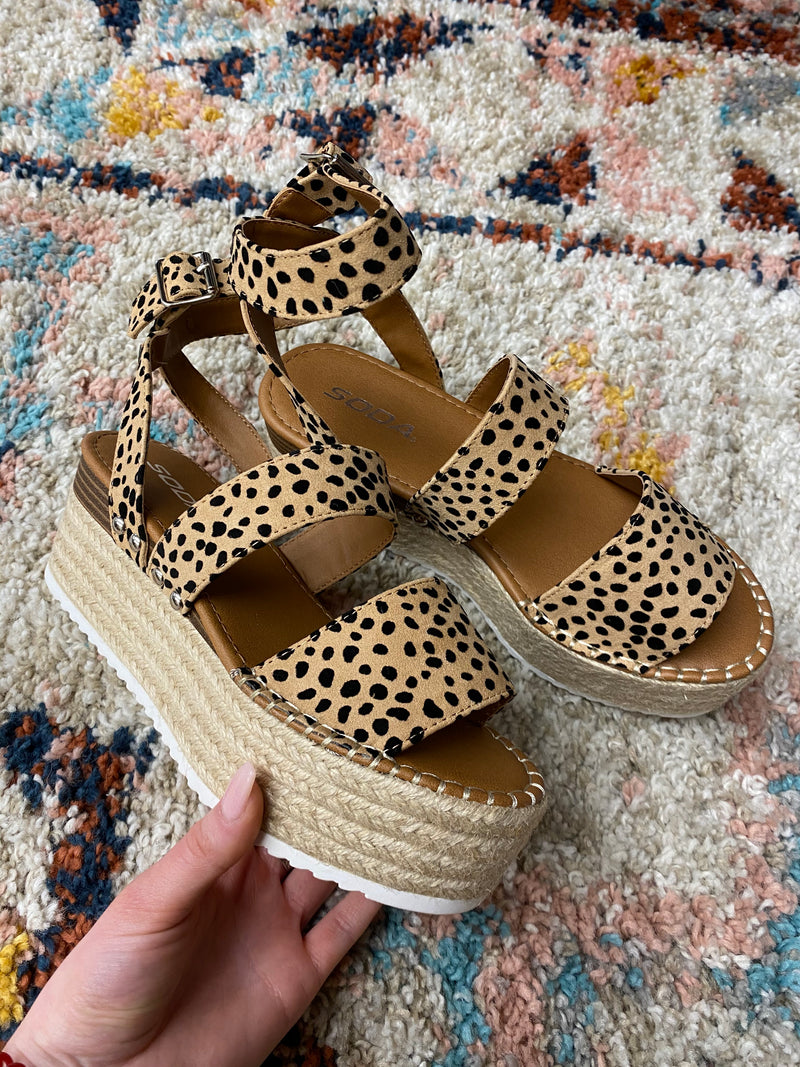 Spotted Cheetah Platform