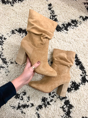 Toffee Saddle Boot