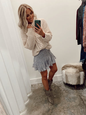 Pop Of Daisy Skirt