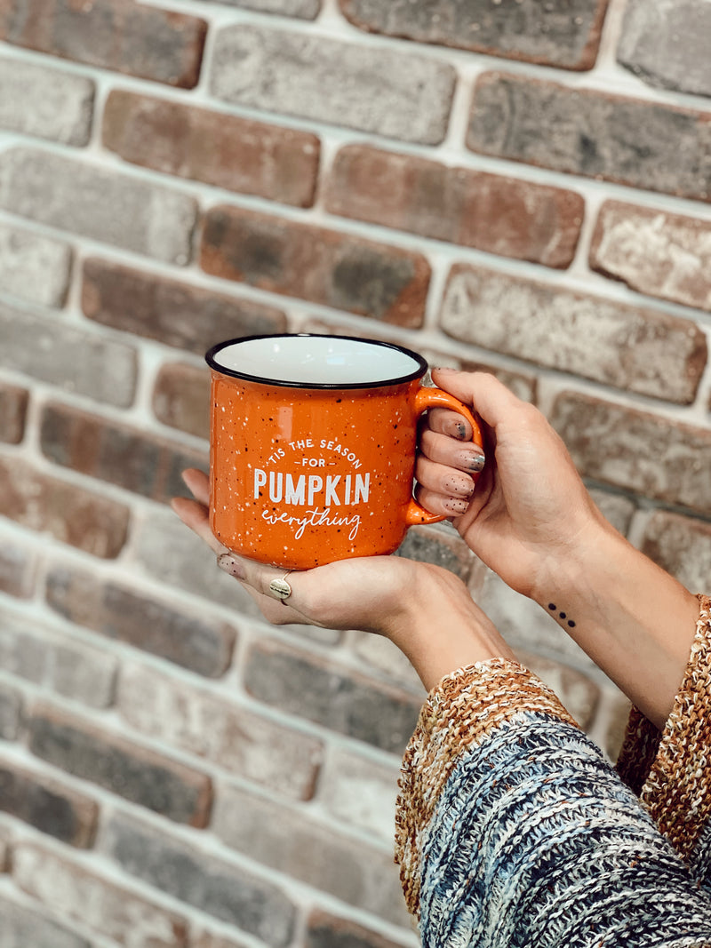 Pumpkin Everything Campfire Mug