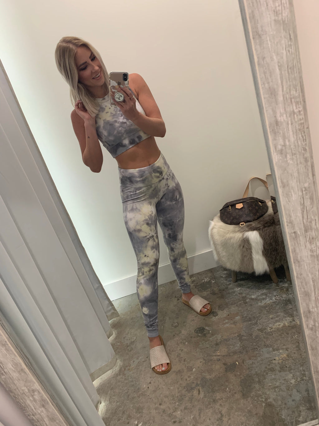 Gray Sol Leggings