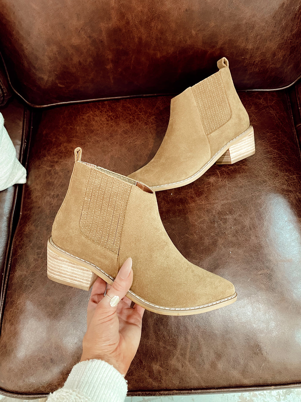 On Point Camel Booties