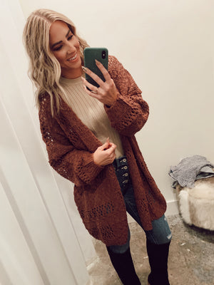 Autumn Leaves Cardigan