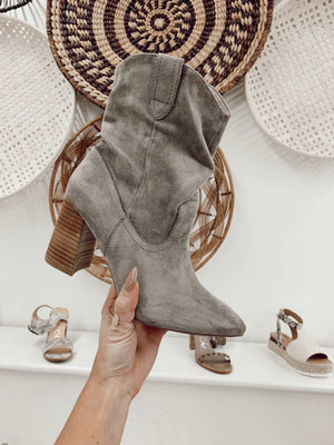 Just a Little Country Boot Grey