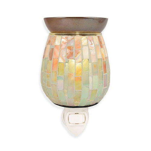 Colorful Mosaic Ceramic Plug-In Warmer