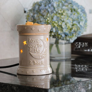 Love You To The Moon Illumination Fragrance Warmer