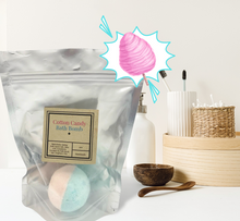 Load image into Gallery viewer, Bath Bombs-Made with Coconut Oil-Variety of Colors and Fragrances-Sensitive Skin-Perfect for Kids-