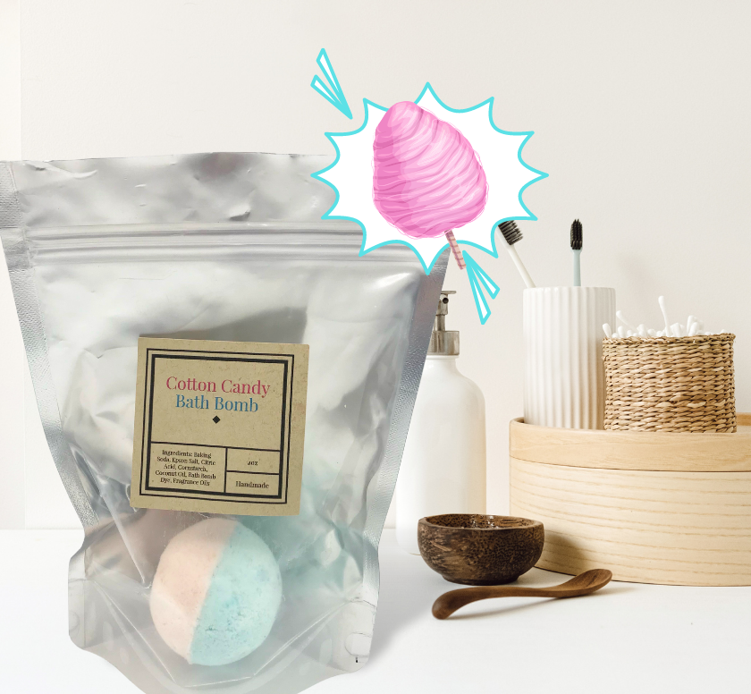 Bath Bombs-Made with Coconut Oil-Variety of Colors and Fragrances-Sensitive Skin-Perfect for Kids-