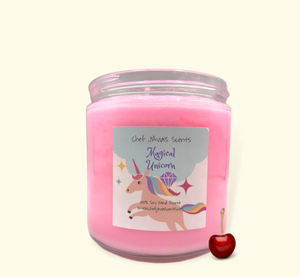 Magical Unicorn All Natural Soy Candle