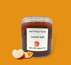 2-Wick 16oz Caramel Apple All Natural Soy Candle