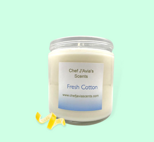 Fresh Cotton All Natural Soy Candle
