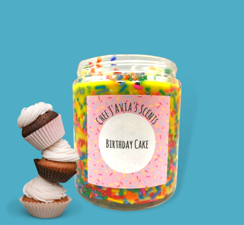 Birthday Cake All Natural Soy Candle