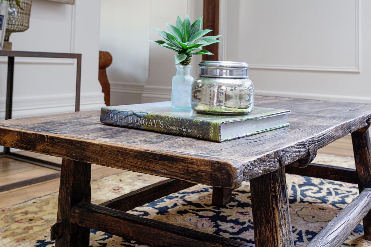 - Antique Timber Coffee Table – Le Marche Antiques