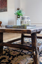 Load image into Gallery viewer, Antique Timber Coffee Table