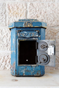 French antique letterbox
