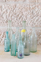 Load image into Gallery viewer, Selection of vintage glass bottles