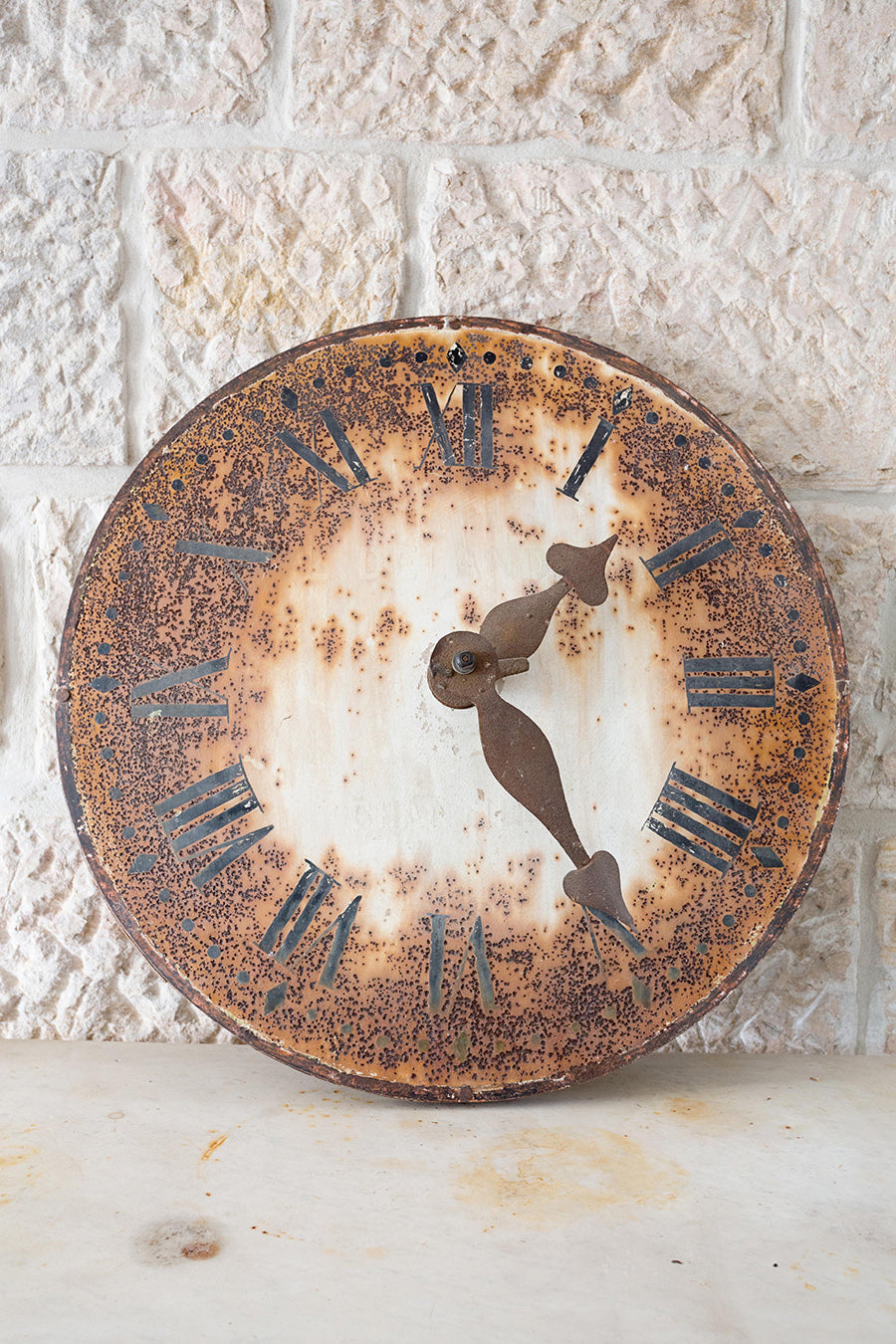 Small 19th century clock face