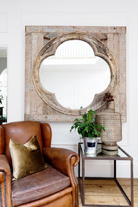 Large Italian 18th C mirror