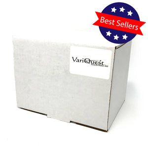 "VariQuest Awards Maker 400 Sticker Media - Awards/Trophies - Silver Florentine 4"" x 100'"