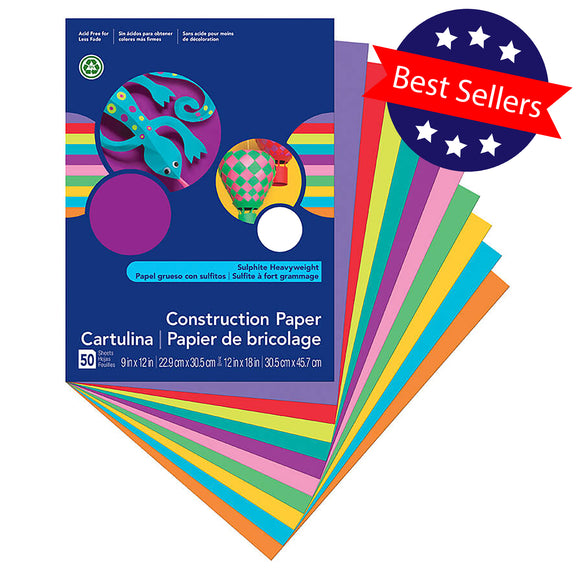VariQuest Cutout Maker Supplies - Heavy Construction Paper 12