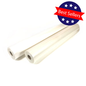 "Hot Lamination Film Two Roll Set - 27"" x 250' 3.0 mil"