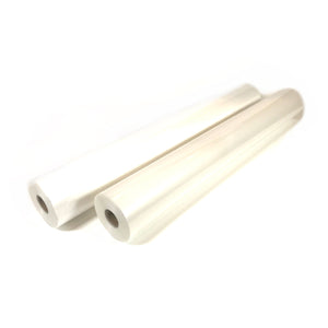 "Hot Lamination Film Two Roll Set - 27"" x 500' 1.5 mil"