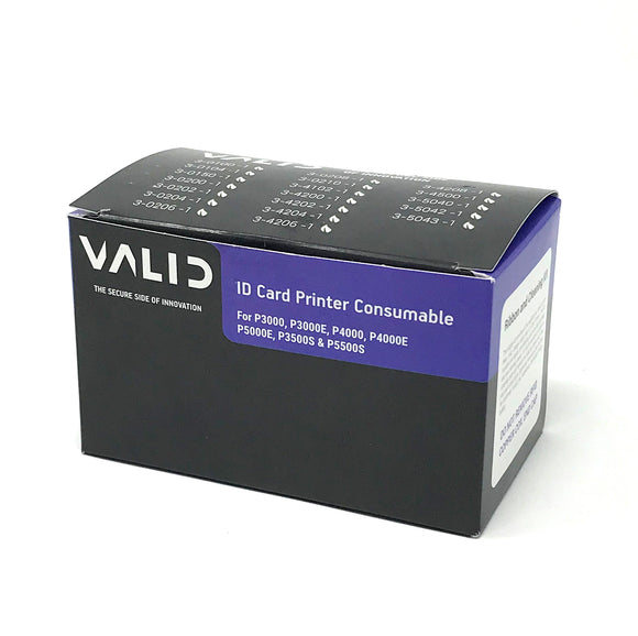 VALID (formerly Polaroid) Black Ribbon with Topcoat - KT - 1000 Prints