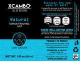 Xcambo Mayan Gourmet Low Sodium Liquid Salt Spray (Natural) for Drinks, Finishing Dishes and Flavor