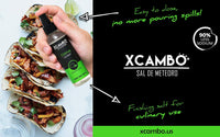 Xcambo Mayan Gourmet Low Sodium Liquid Salt Spray (Citrus) for Drinks, Finishing Dishes and Flavor