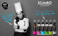 Xcambo Mayan Gourmet Low Sodium Liquid Salt Spray (Vanilla) for Drinks, Finishing Dishes and Flavor