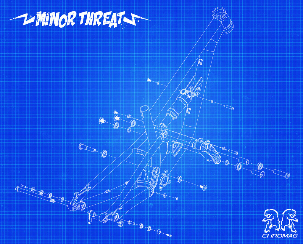 chromag minor threat exploded view