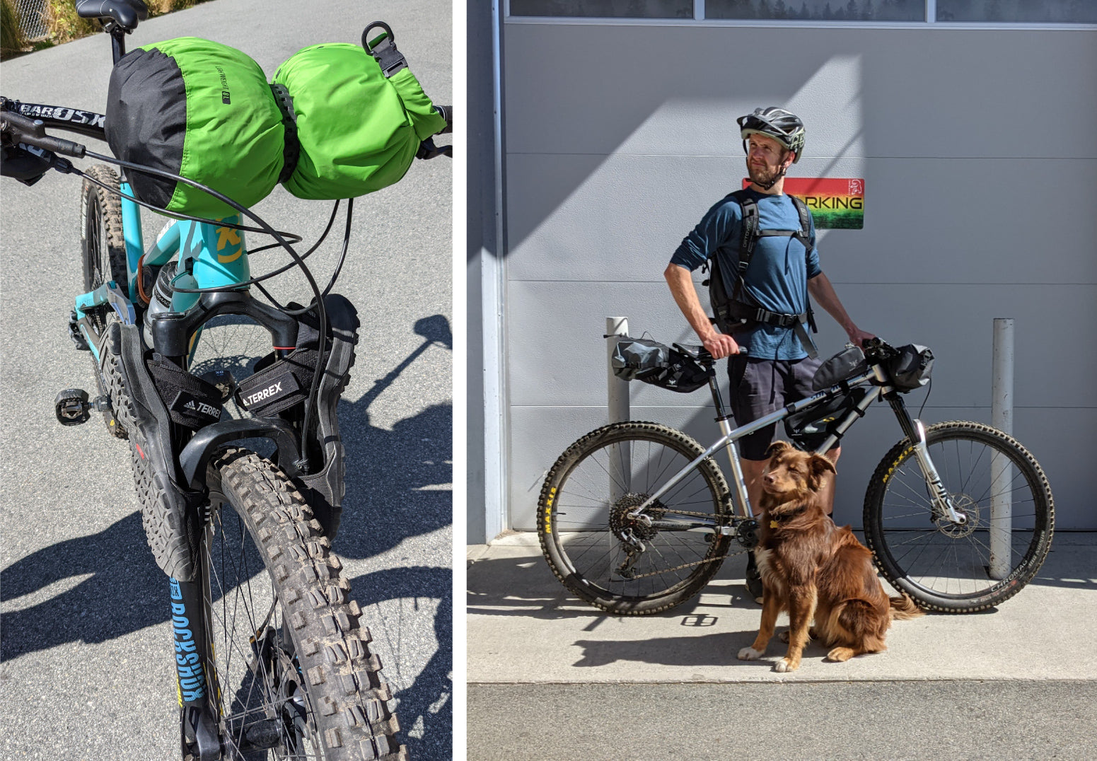 chromag camp out bike packing