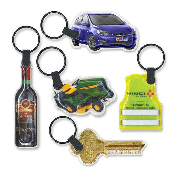 Star Flex Key Ring