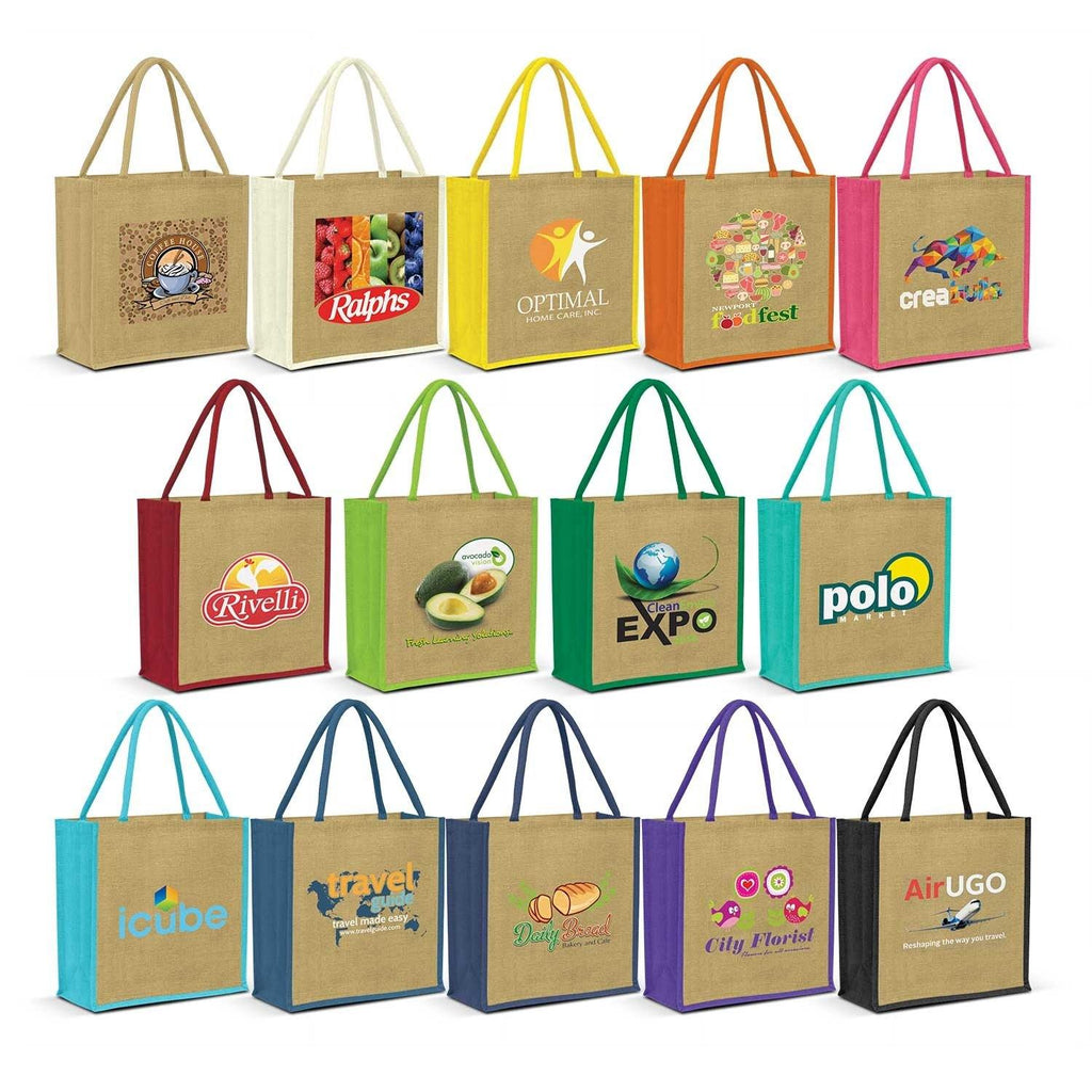 Copy of Monza Jute Tote Bag - New Age Promotions
